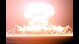 Trinity the first 20 Kiloton bomb Compared to a 100 ton TNT Blast