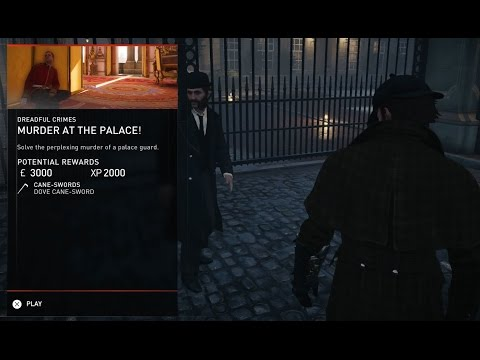 Assassin's Creed Syndicate Dreadful Crimes Murder at the Palace