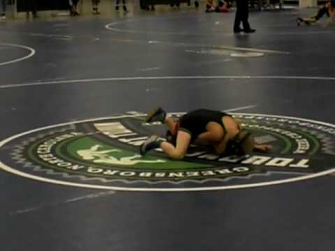 Tyler Gregor vs Hunter Smith at 2009 NC State Champs.