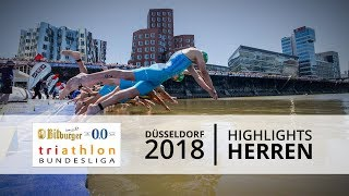 1. Bitburger 0,0% Triathlon-Bundesliga - Düsseldorf 2018 - Highlights Männer