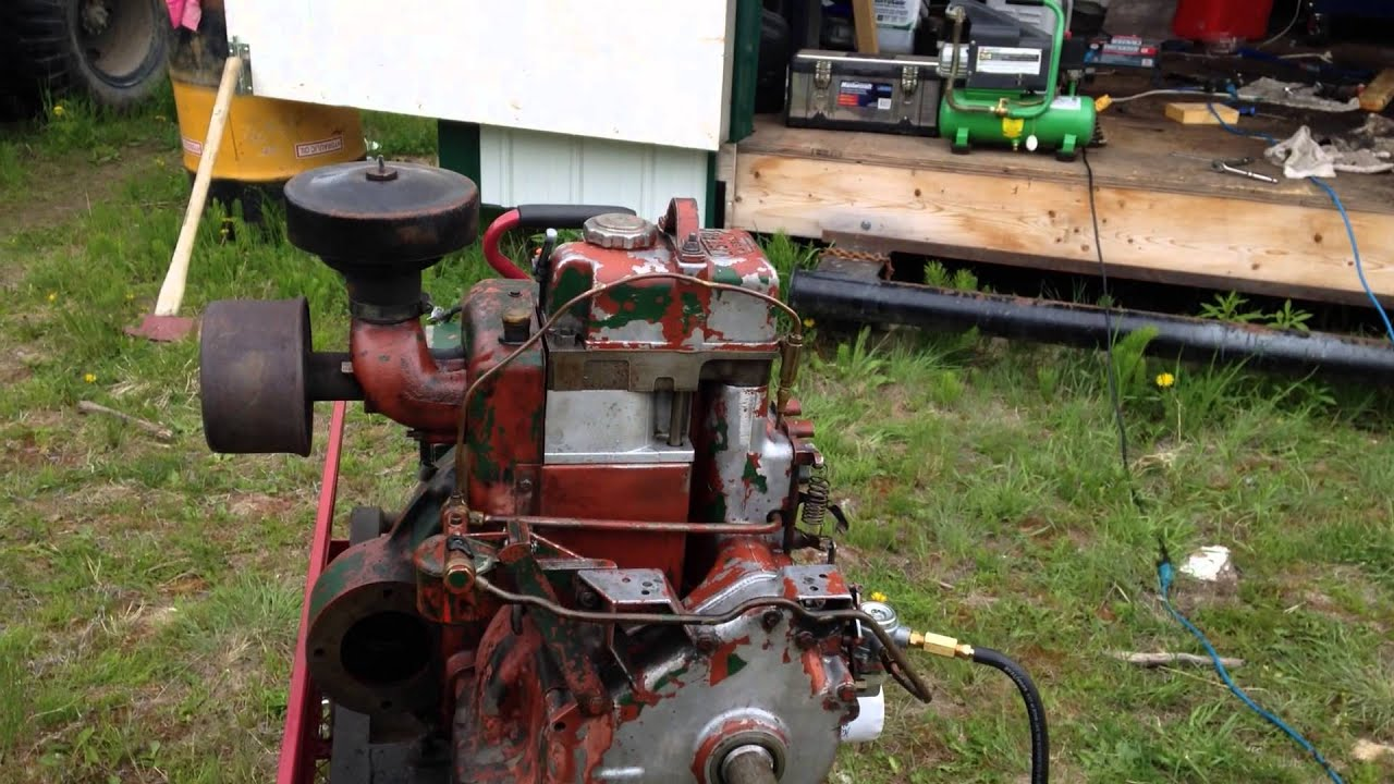 Lister Diesel ST 1 With 4 KW Brush generator