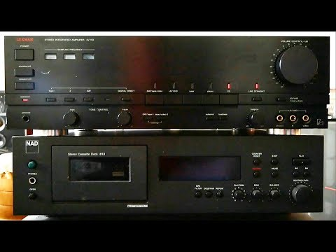 Luxman LV-113 on B&O M100 & Canton ergo RC-L soundtest
