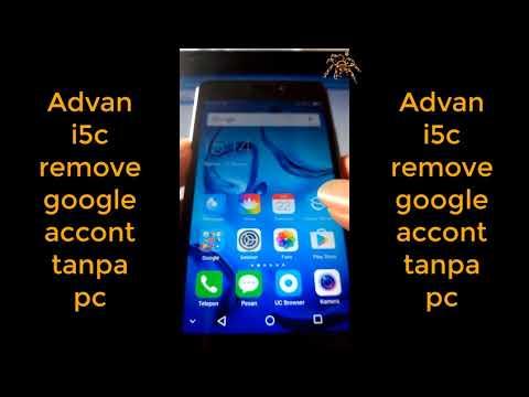 Buka akun advan i5c tanpa pc tanpa aplikasi