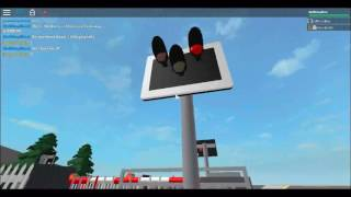Sherburn-In-Elmet Level Crossing, North Yorkshire ROBLOX by lukyplay5alt.