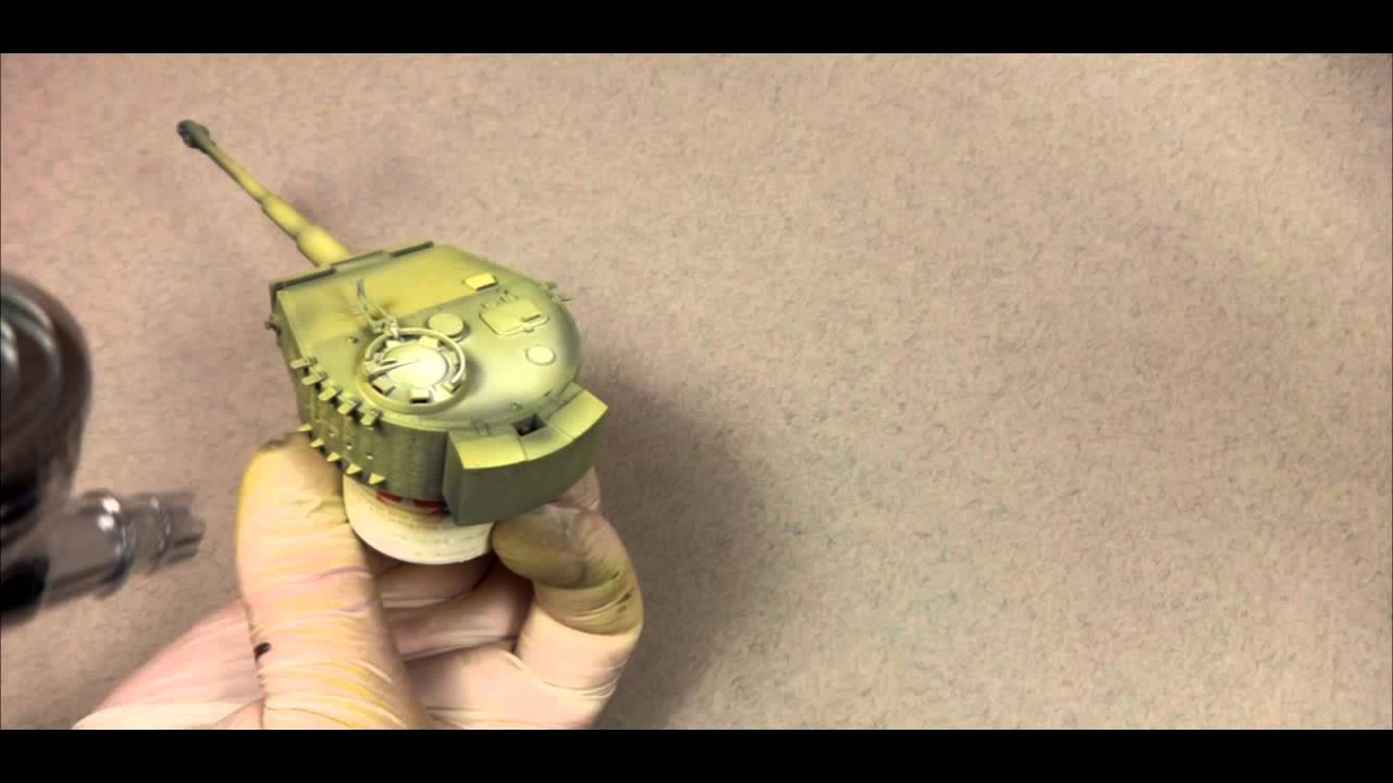 tiger tank video tutorial color modulation camo part 2 youtube - Tiger Pictures To Color 2