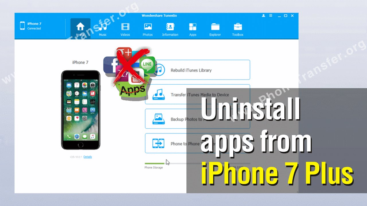 How To Delete An App On Iphone, Uninstall Apps From Iphone 7 Plus Without  Itunes