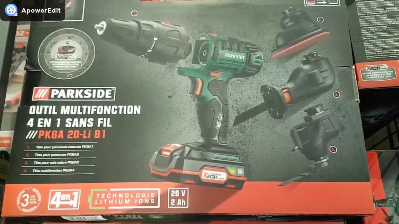 Enorme Arrivages Outils Bricolage Chez Lidl Parkside Youtube