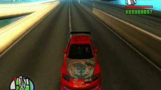 GTA San Andreas - Best 10 Drift Cars