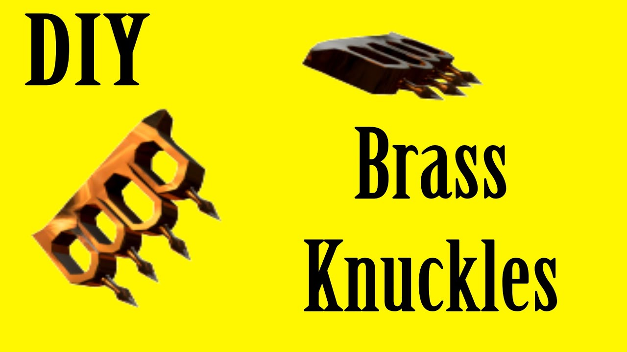 How to Make Prop Brass Knuckles TF2 Eviction Notice YouTube – How to Make a Eviction Notice