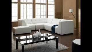 Divani Casa 2827   Modern Bonded Leather Sectional Sofa
