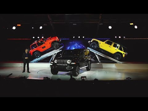 2018 Jeep® Wrangler Reveal (Full Program) | 2017 LA Auto Show