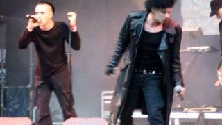 Sven Friedrich & Myk Jung feat. Girls Under Glass - Temple of love - WGT Live 2011