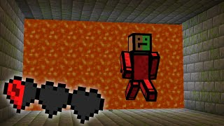 Minecraft, But Lava Is Chasing You...