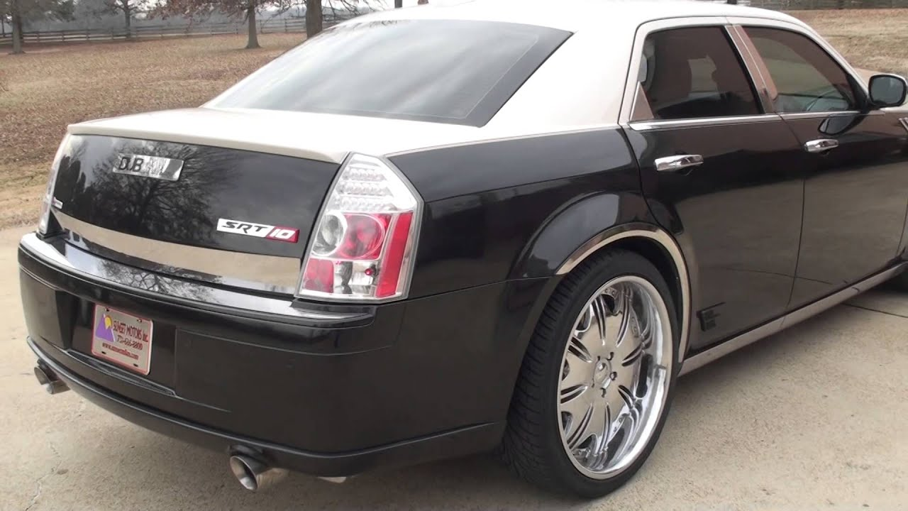 HD VIDEO 06 CHRYSLER 300 C SRT8 DUB EDITION CUSTOM FOR SALE SEE