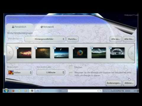 Tutorial - How To Change Your Background In Windows 7 Starter