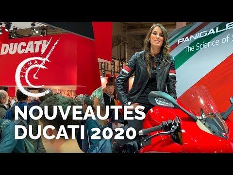 Les nouveautés Ducati 2020
