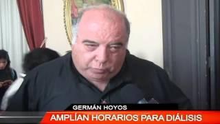 AMPLÍAN HORARIOS PARA DIÁLISIS