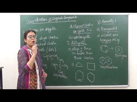 CHEM-XI-12-02 Classification of organic compounds (2017) Pradeep Kshetrapal Physics channel