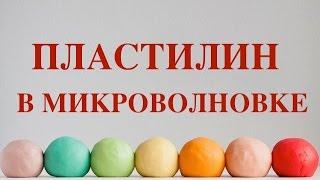 КАК СДЕЛАТЬ ПЛАСТИЛИН В МИКРОВОЛНОВКЕ ЗА 5 МИНУТ!