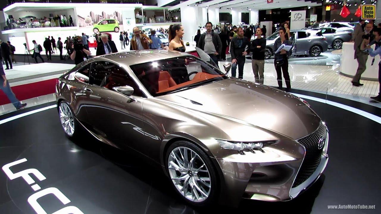 2014 Lexus LF CC Concept   Exterior And Interior Walkaround   2012 Paris  Auto Show   YouTube