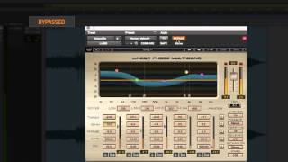 Waves Linear Phase Multiband Compressor: Plugin Tutorial with Audio Demos