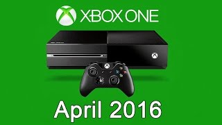 XBOX ONE Free Games - April 2016