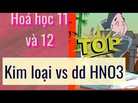 [HoaHoc] Kim loại tác dụng HNO3 loãng