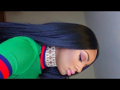 How to Slay Cheap wig! Nicki Minaj inspired wig