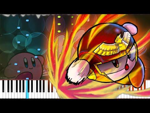 Kirby Super Star // Gourmet Race | LyricWulf Piano Tutorial On Synthesia