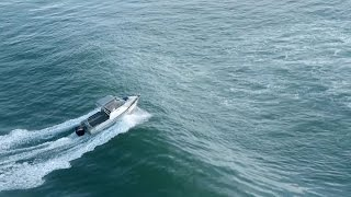 New Zealand Bar Croṡsing - How to cross a bar safely in a trailer powerboat