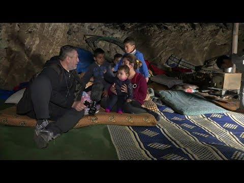بي بي سي ترصد أحوال النازحين من مدينة عفرين  - 16:22-2018 / 2 / 15