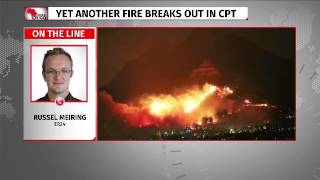 Another fire breaks out in Cape Town