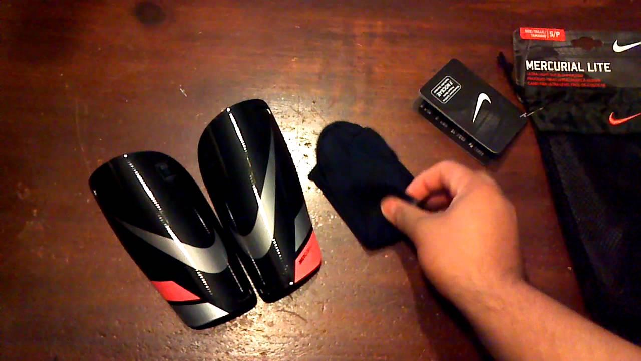 Nike Mercurial Lite Shinguards - YouTube a6edb5bb87fc