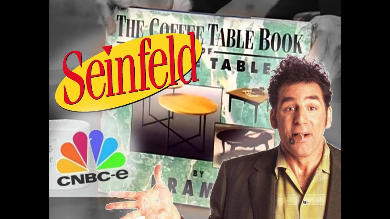Seinfeld Kramer S Coffee Table Book Youtube