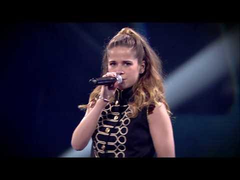 Laura, Wouter, Oona & Robin - 'Weak' | Finale | The Voice Kids | VTM