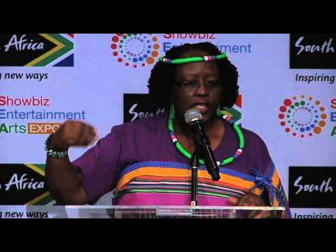 Deputy Minister: Small Business Development - Elizabeth Thabethe @SEA_expo 2014