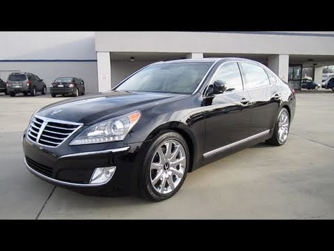 2011 Hyundai Equus Signature Start Up Engine And In