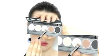 MW Естественный макияж на каждый день пошагово для карих глаз  Мой урок макияжа