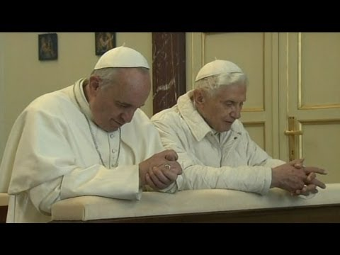 "Pope Francis To Pope Emeritus Benedict XVI: ""We're Brothers"""