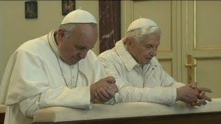 Pope Francis To Pope Emeritus Benedict XVI: