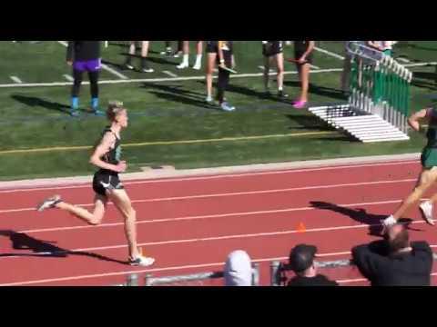 Angus Fitzgerald - 1600m 2/24/18 (2018 Thousand Oaks High School Track & Field Invitational)