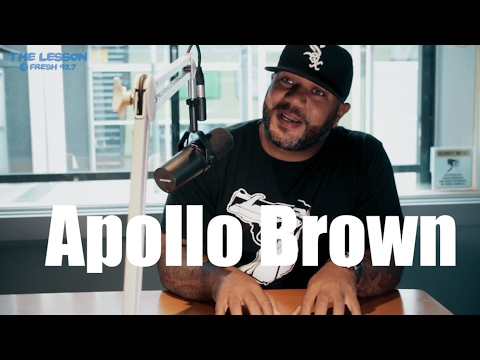 "Apollo Brown: ""I started making beats when I was 16 in high school"""