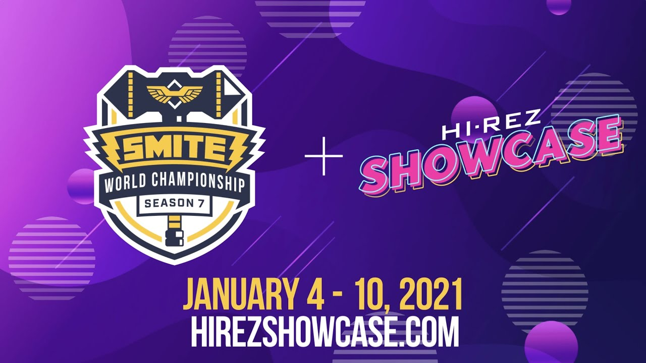 Best Smite Gods 2021 SMITE World Championship Season 7 & Hi Rez Showcase (January 4