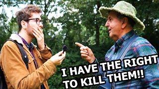 Livestock Farmer Debates Vegan Activist!