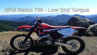 2015 Maico 700 - Low End Torque - Hillclimbing at Diamond Mill