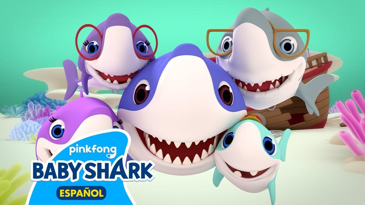 Tiburón Bebé | 3D | Baby Shark en Español | Canciones Infantiles