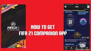 How to get fifa 21 on your iPhone|fifa companion app|Tommy playz fifa| screenshot 3