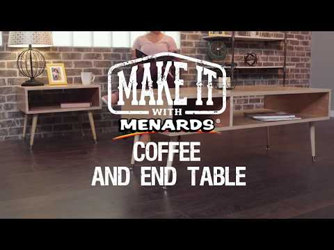 Coffee and End Table - Make It...
