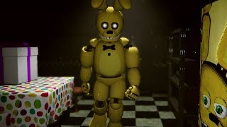 TRAPPED OVERNIGHT AT FREDBEARS! SPRING BONNIE IS CHASING AFTER ME | FNAF Those Nights at Fredbear's