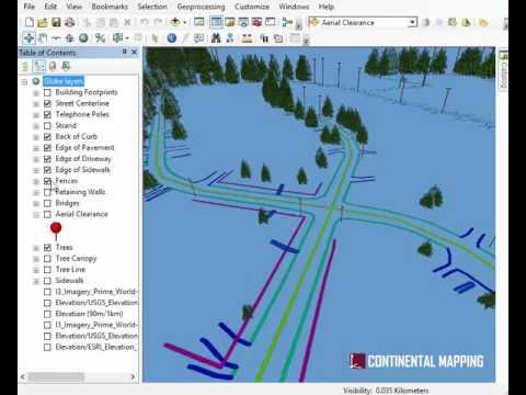 3D GIS Data for Fiber Design
